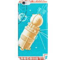 Mongolia Vostok 2 Space Print iPhone Case/Skin