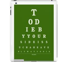 The Smiths - There Is A Light That Never Goes Out iPad Case/Skin