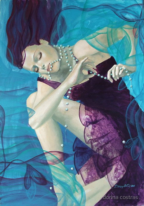 Loose pearls - Working on a dream by dorina costras