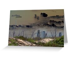 Surfers Paradise © Gold Coast 2050 Greeting Card
