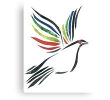 Flight of the dove Canvas Print
