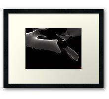 Slighting, finer grief Framed Print