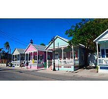 Key West Pastels Photographic Print