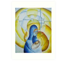 Mary and Child - Advent 4 Art Print