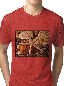 Shell Art Tri-blend T-Shirt