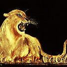 Golden Cat by Dawn B Davies-McIninch