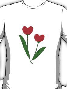 Tulip Hearts T-Shirt