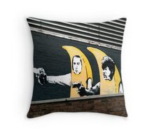 Banana Pulp Fiction  Throw Pillow