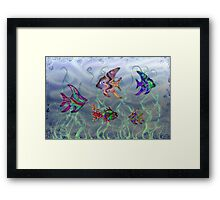 Fish Tank Framed Print