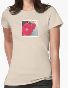 Flowers at the Market - 1 Womens Fitted T-Shirt