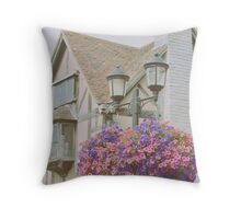 Shakespeare's Birth Place Throw Pillow