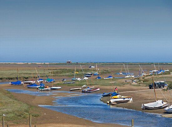 Blakeney Harbour North Norfolk by johnny2sheds