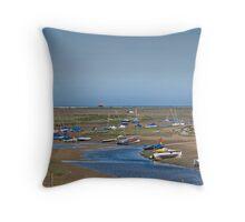 Blakeney Harbour North Norfolk Throw Pillow