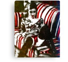 The Vaudeville Seductress Canvas Print