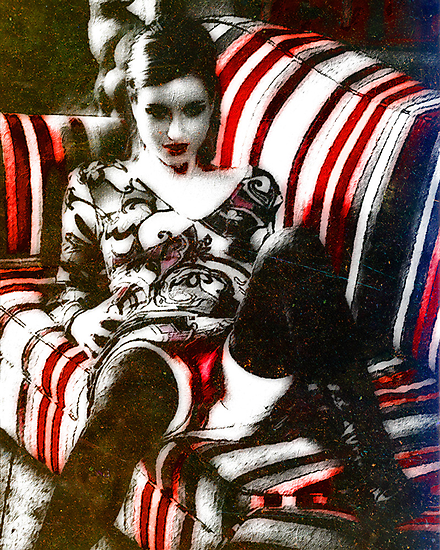 The Vaudeville Seductress by David Rozansky