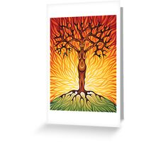 Goddess of Fire Greeting Card