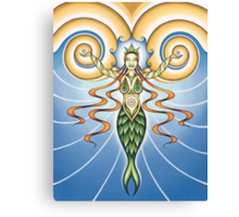 Goddess of Water Canvas Print