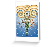 Goddess of Water Greeting Card