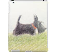 Scottie – pencil sketch iPad Case/Skin