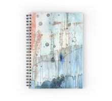 """Moody"" art by C.Cambrea Spiral Notebook"