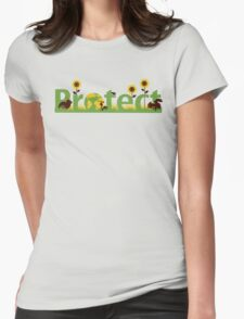 Protect our planet Womens Fitted T-Shirt