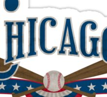 Chicago Baseball Sticker