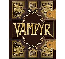 Vampyr Book - Buffy the Vampire Slayer Photographic Print