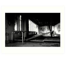Demolition 3 Art Print