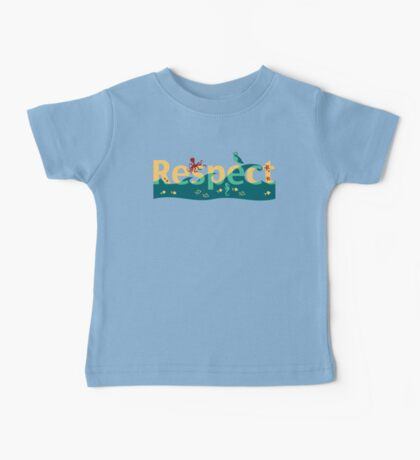 Respect our planet Baby Tee