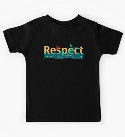 Respect our planet Kids Tee