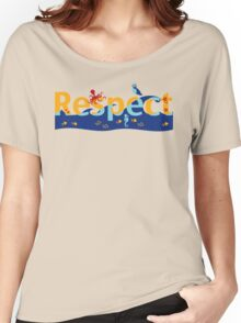 Respect our planet Women's Relaxed Fit T-Shirt