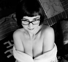 Portrait in Glasses  by MissAudrey