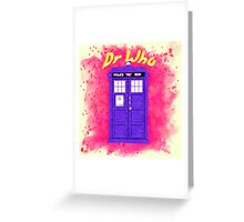 Doctor Who 3 Greeting Card