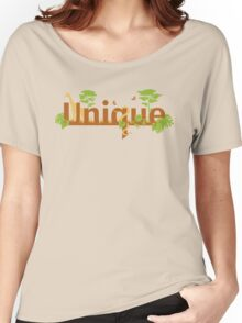 Unique planet safari design Women's Relaxed Fit T-Shirt
