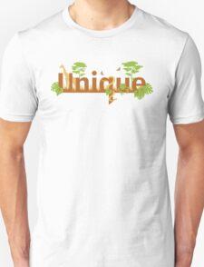Unique planet safari design Unisex T-Shirt