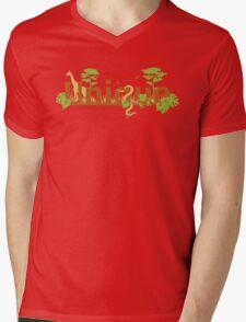 Unique planet safari design Mens V-Neck T-Shirt