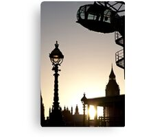 Dusk in Westminster Canvas Print