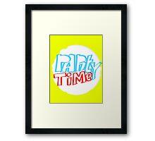 PartyTime Framed Print