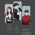 The Good, The Bad, and the Horrible by AriesNamarie