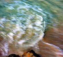 Beauty of moving sea water... by Haydee  Yordan