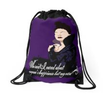 You Wanted to See Your Queen? Drawstring Bag