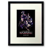 THE PHANTOM PAIN (ARCADE EDITION) Framed Print