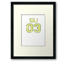 Kili Framed Print