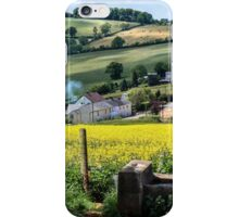 Midsummer Smoke In An English Valley iPhone Case/Skin
