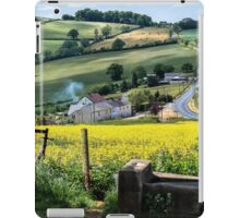 Midsummer Smoke In An English Valley iPad Case/Skin