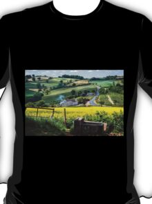 Midsummer Smoke In An English Valley T-Shirt