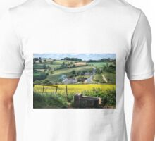 Midsummer Smoke In An English Valley Unisex T-Shirt