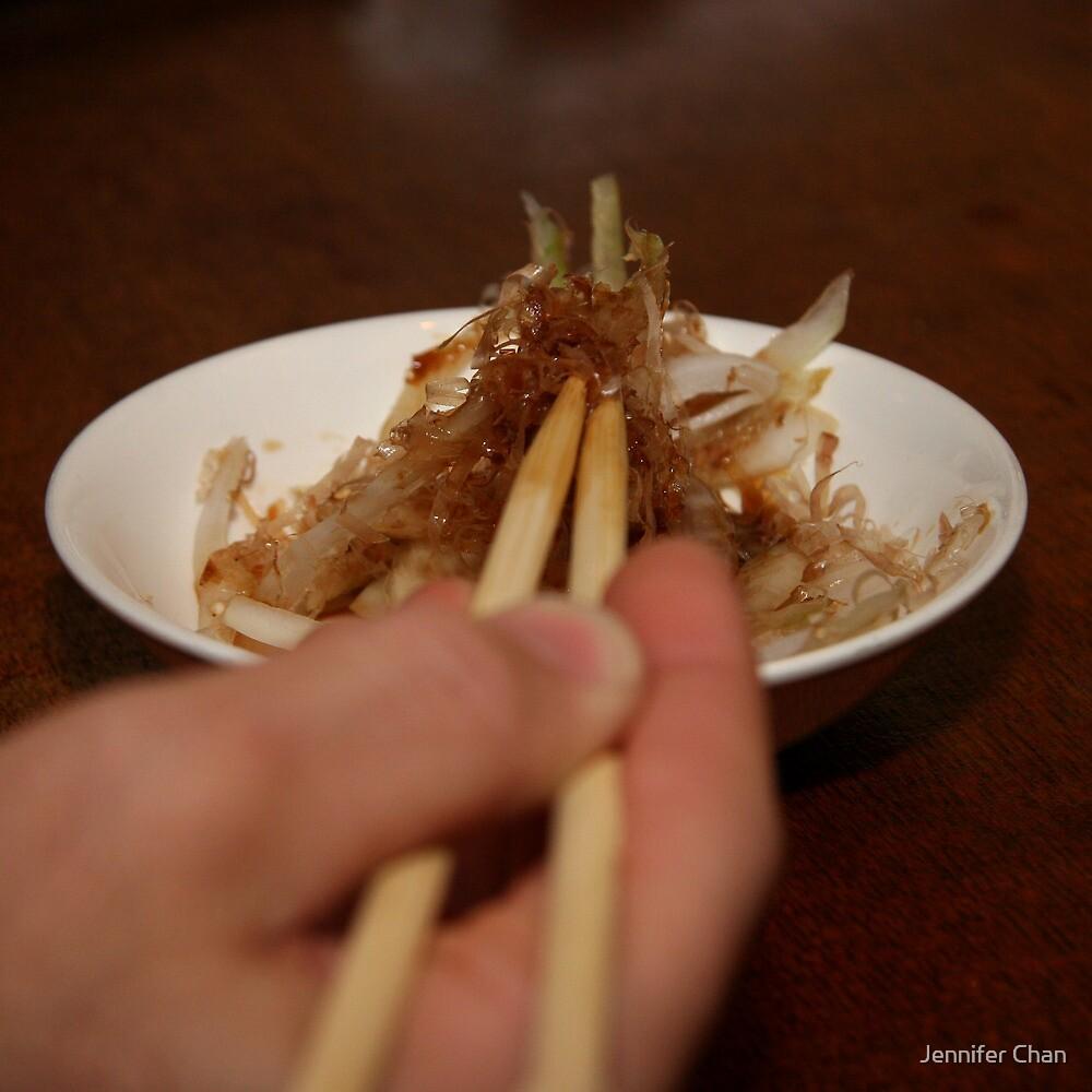 Onion Salad by Jennifer Chan