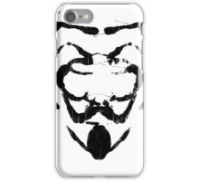 R for Rorschach iPhone Case/Skin