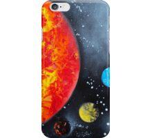 Spray Paint Art- Solar System iPhone Case/Skin